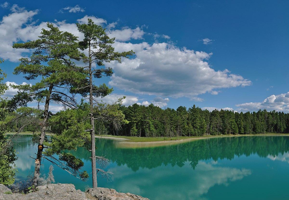 meromictic lake