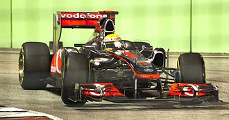2011 Singapore Grand Prix - Lewis Hamilton was involved in an incident with Felipe Massa, disadvantaging both of their races.