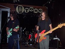 Meat Puppets performing in Memphis, Tennessee on November 2nd, 2007.