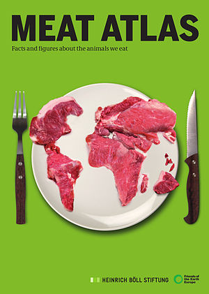 Friends of the Earth - 'Friends of the Earth' publication Meat Atlas includes graphs on the consumption and production of meat