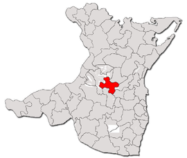 Location in Constanța County