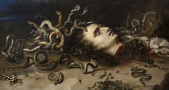 Medusa (Rubens) - Another version in Brno