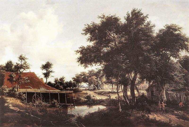 File:Meindert Hobbema - The Water Mill - WGA11440.jpg