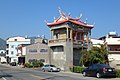 Meinong East Gate Tower side view 20150124.jpg