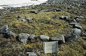 Zeltring aus dem 15. Jahrhundert, Relikt der Thule-Siedlung Ijiraliq