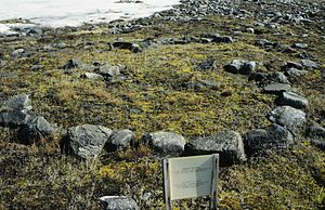 Rankin Inlet - A Thule site at the Meliadine River near Rankin Inlet