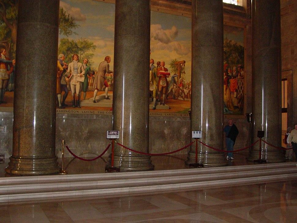 Memorial Hall columns