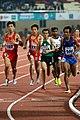 Men's 5000m Saudi's Bronze Winner Tariq Ahmed Running During The Finals.jpg