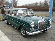 Mercedes Benz Heckflosse Wikip 233 Dia