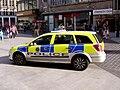 Merseyside Police Car on Church STreet 2.JPG