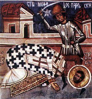 Methodius of Olympus Christian bishop and martyr