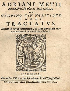 Adriaan Metius - Image: Metius De genuino usu