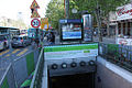 Metro Paris - Ligne 12 - Acces Porte de la Chapelle.jpg