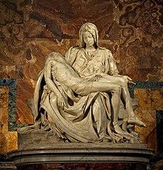 Michelangelo, Pietà, 1498-99.