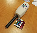 Microphone at Program Evaluation & Design Workshop in Budapest, 2013..jpg