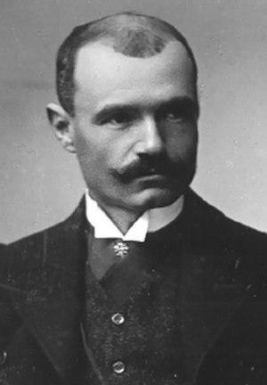 Mihailo Petrović -  Mihailo Petrovic-Alas, 1905 photograph