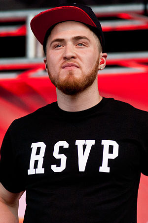 Mike Posner - Posner at B96 Summerbash, in 2012.