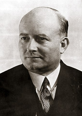 Stanislaw Mikolajczyk's Polish People's Party tried to outvote the communists in 1947, but the election process was rigged. Mikolajczyk had to flee to the West. Mikolajczyk.jpg
