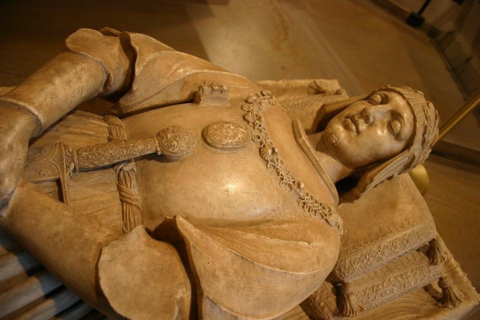 Milano - Castello sforzesco - Busti, Agostino il Bambaja (ca 1480-1548) - Tomba Gastone di Foix (m. 1512) - Foto Giovanni Dall'Orto - 6-jan-2007 - 10