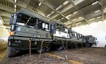 Military Vehicles loaded at Marchwood for Ex Shamal Storm MOD 45159737.jpg