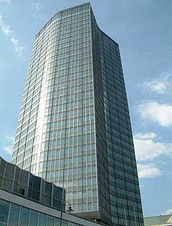 Millbank Tower skyscraper in the City of Westminster in London