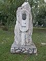 Millecentenary obelisk by Pal Farkas, 2016 Szekszard.jpg