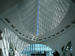 Interior of the Milwaukee Art Museum