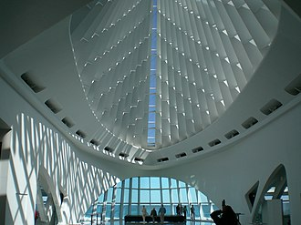 Milwaukee Art Museum - Milwaukee Art Museum interior