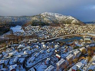 Minde, Bergen - Image: Minde Løvstakken view