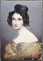 Miniatur, August Grahl, unknown Lady 1, Ivory.jpg
