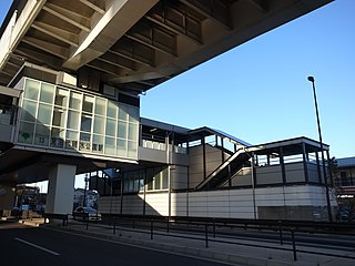 Minumadai-shinsuikōen Station Railway station in Tokyo, Japan