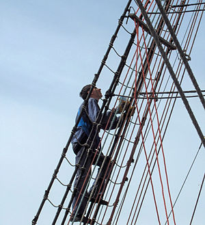Ratlines - Climbing the ratlines of STS ''Mir''