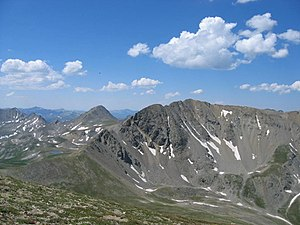 Missouri Mountain - Image: Missouri Mountain (Colorado) 2006 07 16