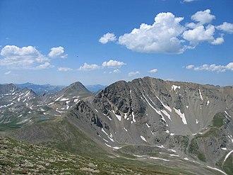 Missouri Mountain - Image: Missouri Mountain (Colorado) 2006 07 16