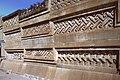 Mitla-18-Ruinen-Saeulenpalast-Wand mit Mosaik-1980-gje.jpg