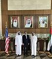 Mnuchin, Obaid Humaid Al Tayer and Mubarak Rashed Al-Mansoori Feb 2020.jpg
