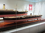 Model of Oceanic (ship, 1871), Merseyside Maritime Museum.JPG