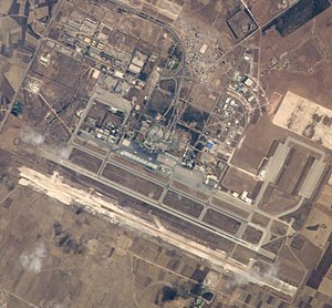 Nouasseur Air Base - Image: Mohammed V International Airport detail ISS005 E 10903