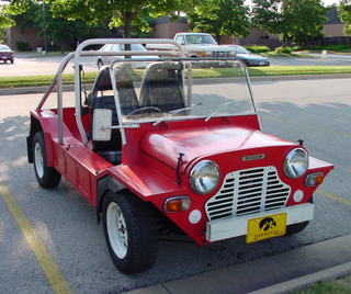 Mini Moke British small utility vehicle