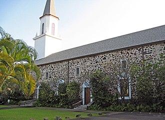 Asa and Lucy Goodale Thurston - Image: Mokuaikaua Church Kona