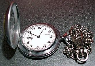 Molnija - Image: Molnija pocket watch