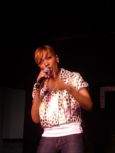 Monica Arnold performs DC Black Pride 2007.JPG