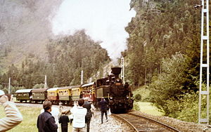 Montafon Railway - Steam in 1972