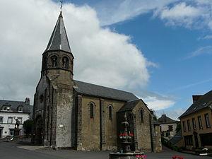 Montboudif - The church of Sainte-Anne, in Montboudif