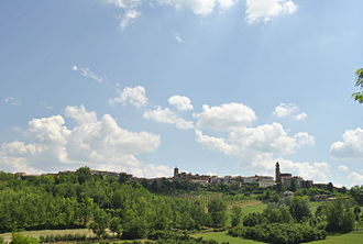 Montechiaro d'Asti - View of Montechiaro d'Asti