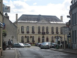 The town hall of Montreuil-Sur-Mer