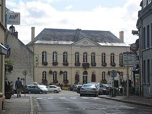 Montreuil, Pas-de-Calais - The town hall of Montreuil-Sur-Mer