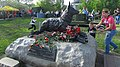 Monument dedicated to a war dog. 9 May 2015. - Памятник военной собаке. 9 Мая 2015. - panoramio.jpg