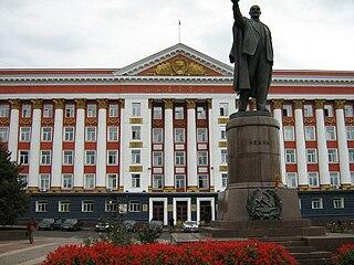 Памятник Владимиру Ильичу Ленину (Курск, Красная площадь)
