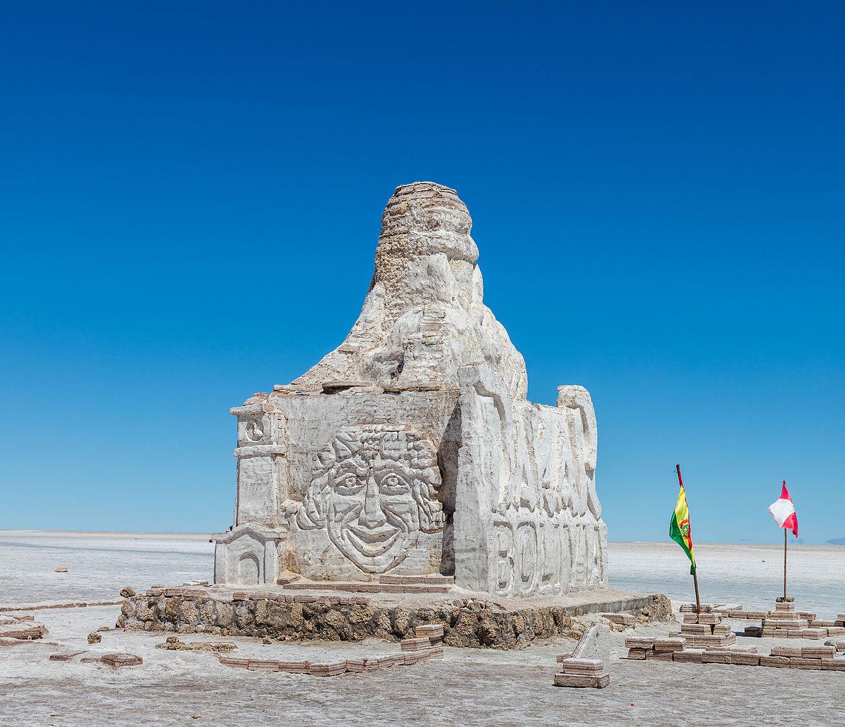 See See Motorcycles >> File:Monumento al Dakar, Salar de Uyuni, Bolivia, 2016-02-04, DD 46.JPG - Wikipedia